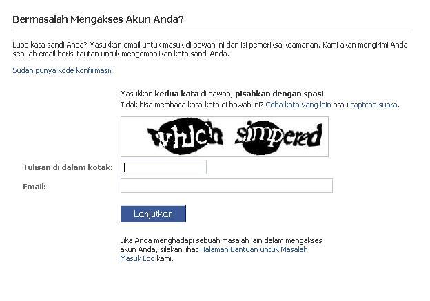 Cara Merebut Kembali Facebook Yang Kena Hack Zendry S Blog